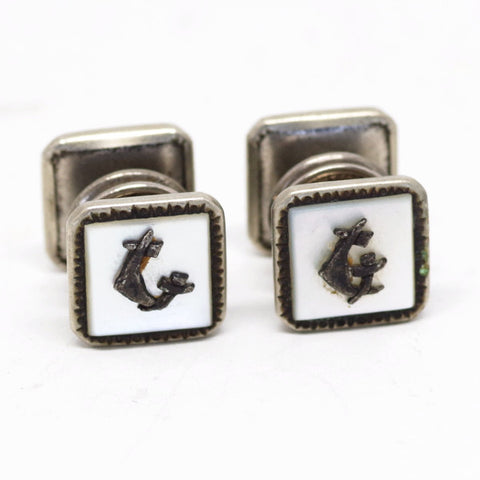 "What Are Probably Some ""G"" Snap Cufflinks"