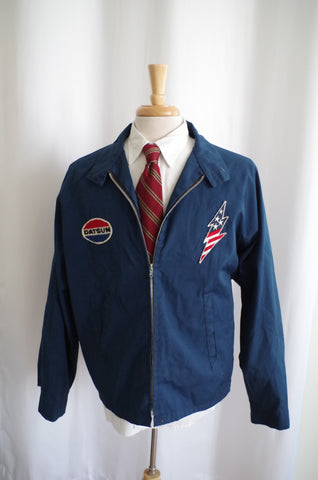 "1970s ""Banzai Trucks Unlimited"" Windbreaker - XL"