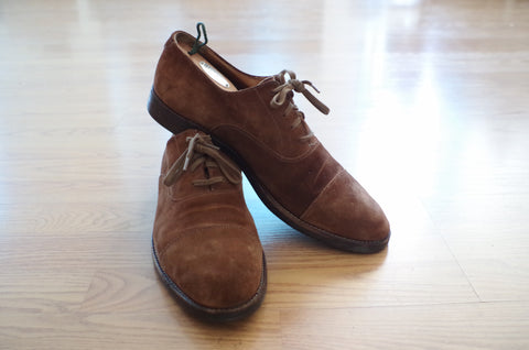 Polo Suede Oxford Shoes - 11
