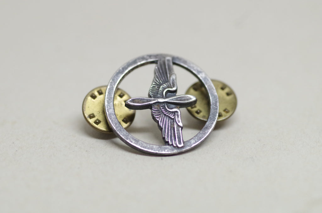"""Prop and Wings"" Air Force Pin"