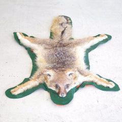 Felt-Mounted Fox Fur