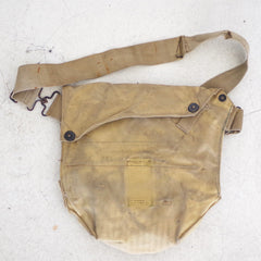 Vintage Army Snap Enclosure Satchel Bag