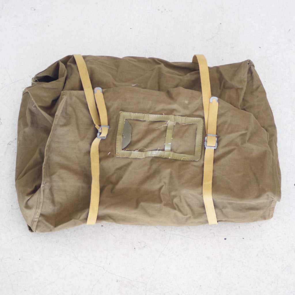 Vintage Fully Openable Army Duffel Bag