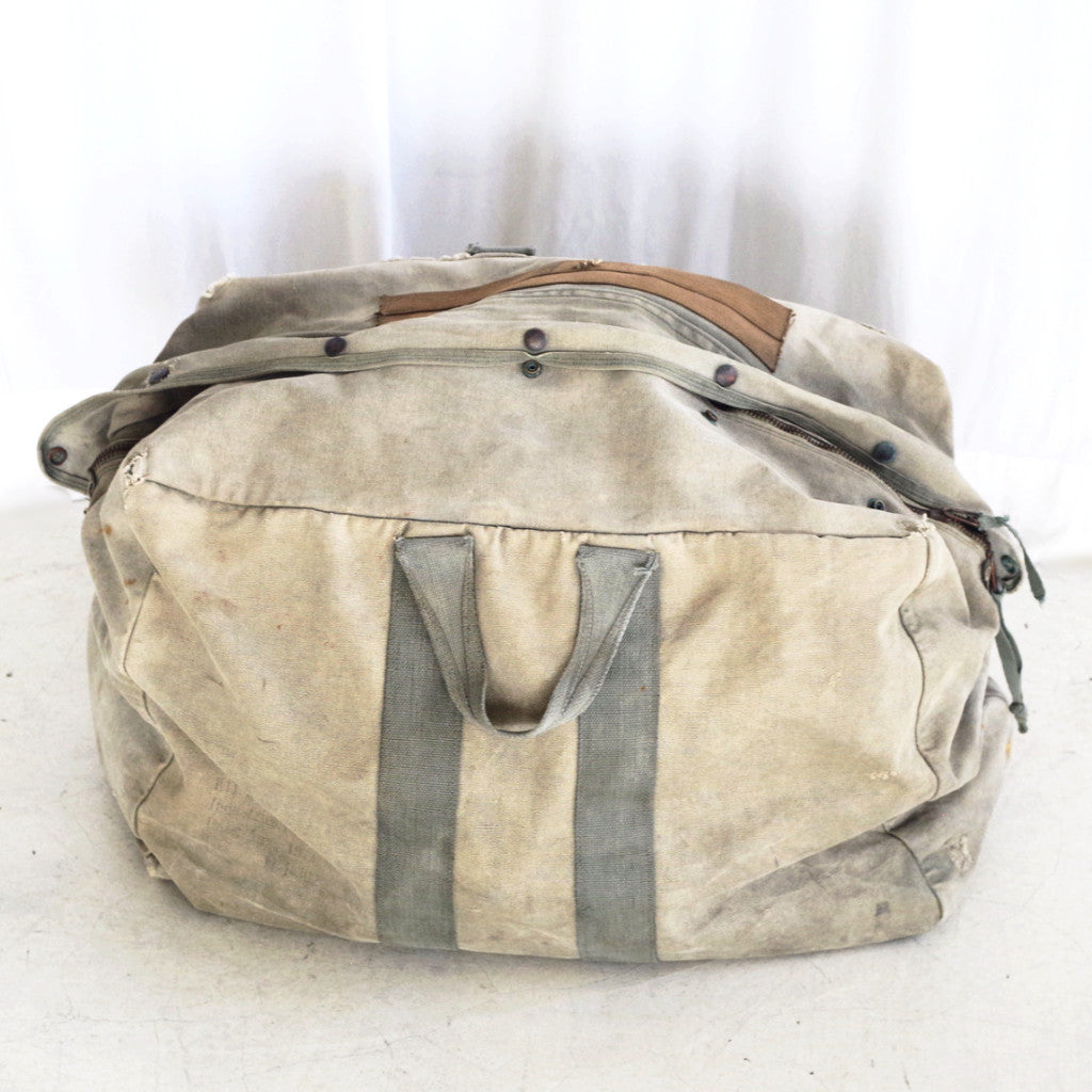 Vintage Large Army Duffel Bag