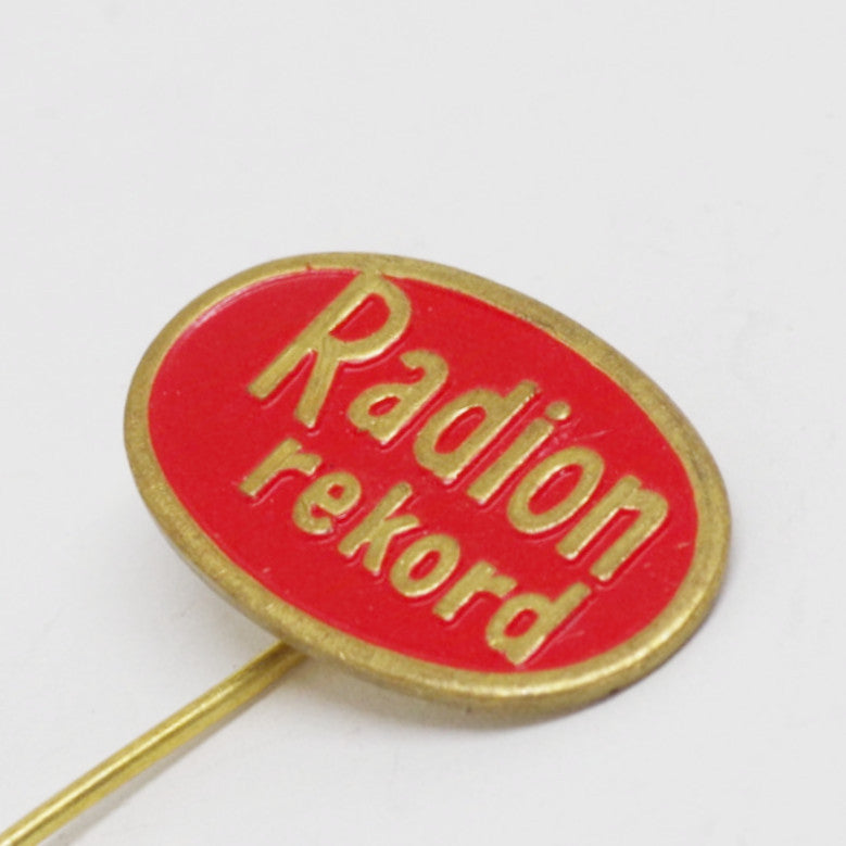 "Dutch ""Radion Rekord"" Stick Pin"