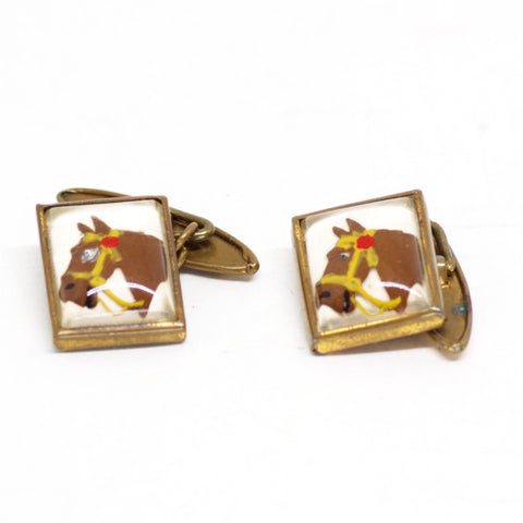 Racehorse Cufflinks
