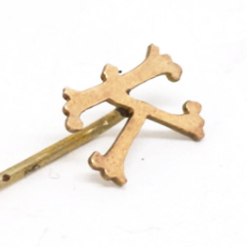 "14kt Gold Monogram ""K"" Stick Pin"