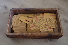 "Very Vintage ""Perishable Goods"" Tags"