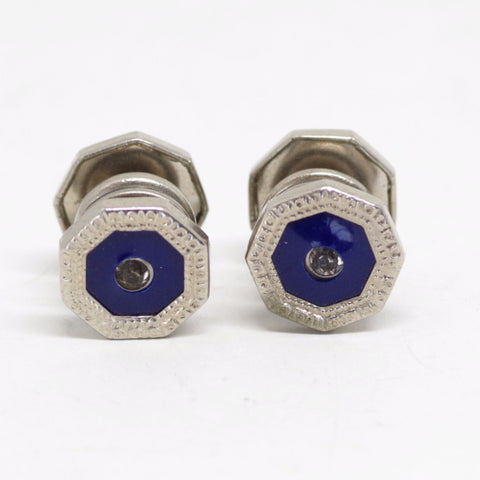 Royal Blye Snap Cufflinks