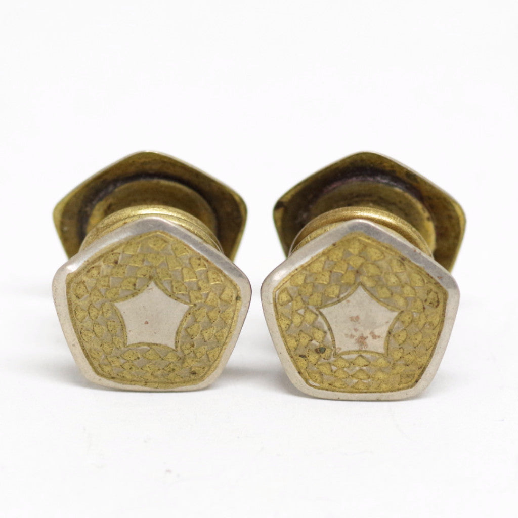 Five-Pointed Star Snap Cufflinks
