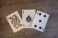 "Victoria ""King Size"" Playing Cards"