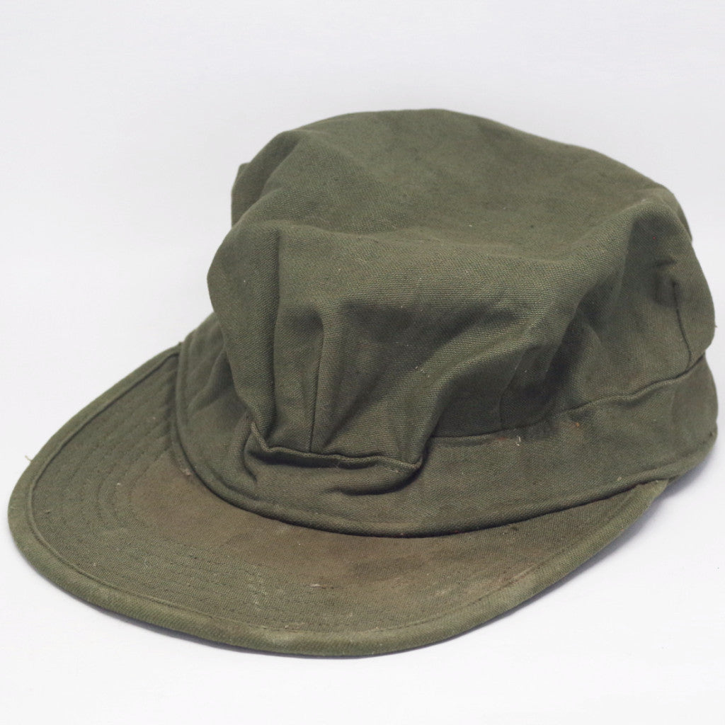 WWII Olive Fatigue Cap 6 3/4