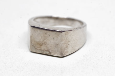 Sterling Silver Plateau Ring