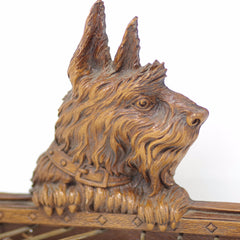 Scottish Terrier Tie Rack w/ Adjustable Arms