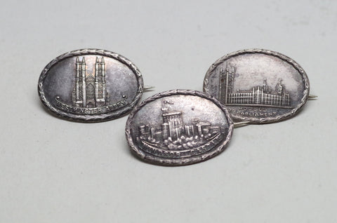 Sterling Silver London Souvenir Pins