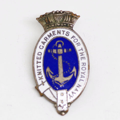 WW2-Era British Knitting Award Pin