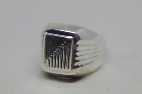 Art-Deco Sterling Silver Ring