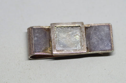 Sterling Silver Picture Frame Money Clip