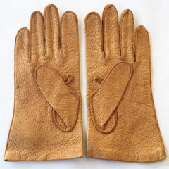 Vintage Pigskin Gloves (Sizes 9 and 10 1/2)