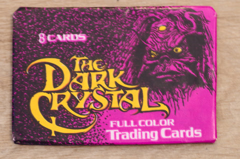 "NOS circa 1982 ""The Dark Crystal"" Trading Cards"
