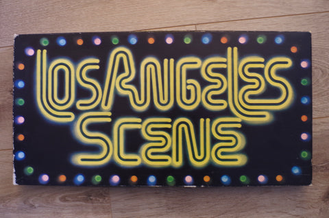 "1970s ""Los Angeles Scene"" Board Game"