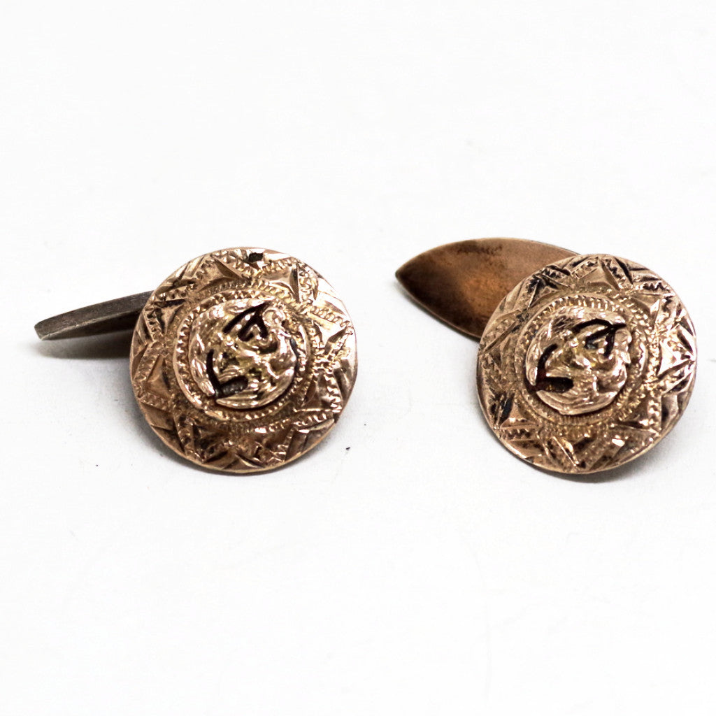 Sterling Mexican Coat of Arms Cufflinks