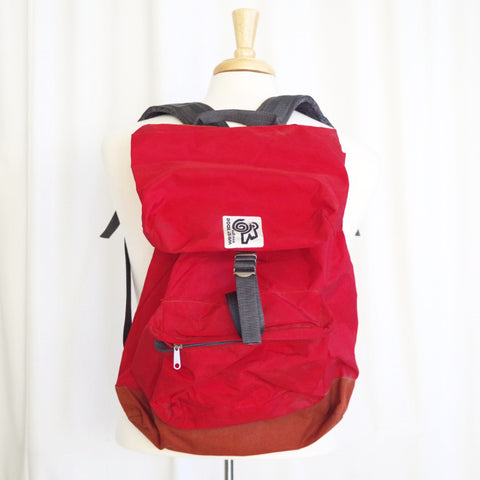 Vintage West Ridge Red Backpack