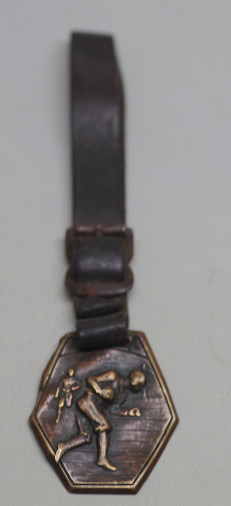 Vintage Football Watch Fob