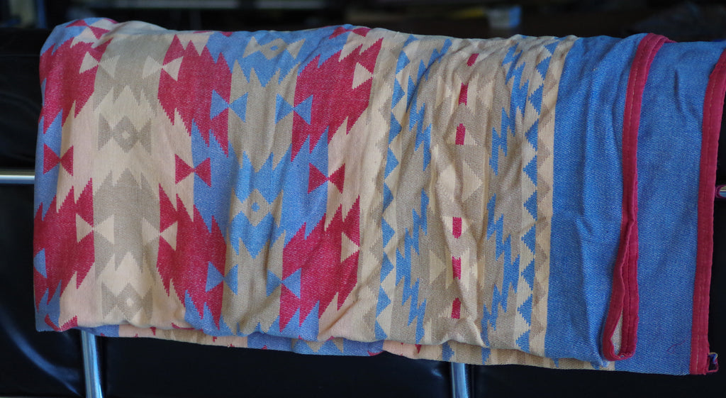 Colorful Cotton Southwestern Blanket