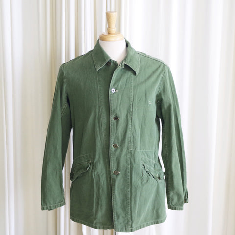 Vintage Army Green C48 Jacket (sz S-M)