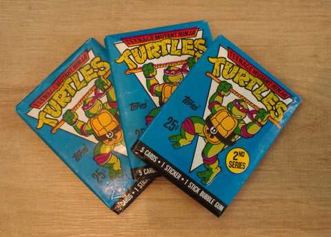 Vintage Topps Teenage Mutant Ninja Turtles Trading Cards