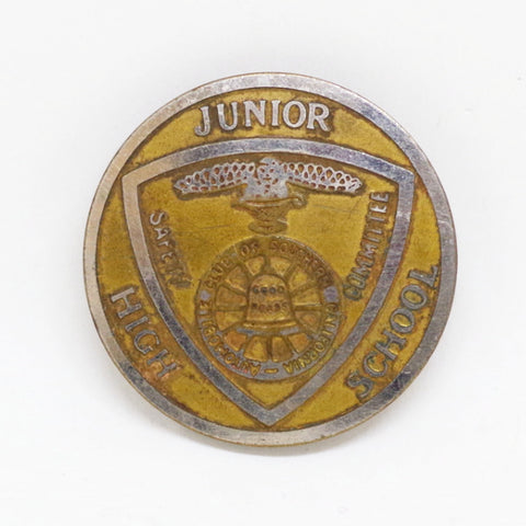 Junior High School Safety Pin (SAFE BUYERS ONLY)
