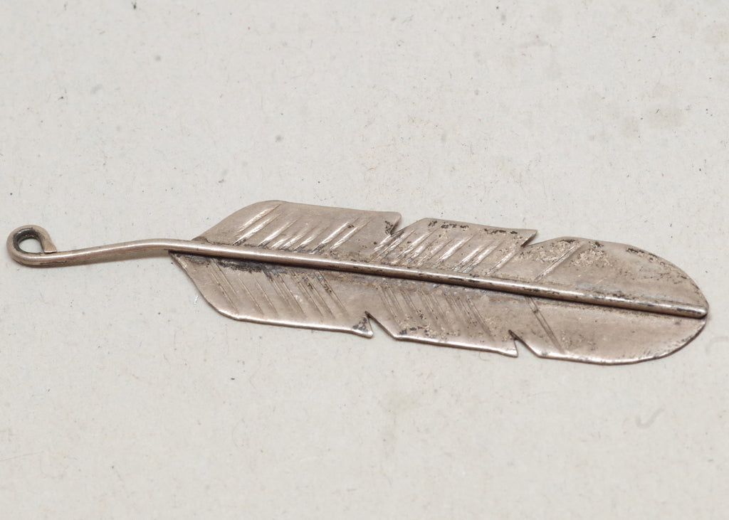 Little Sterling Silver Feather