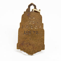 Vintage 100 Yard Dash Award