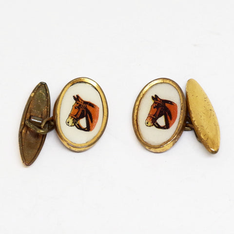 Horse Portrait Cufflinks