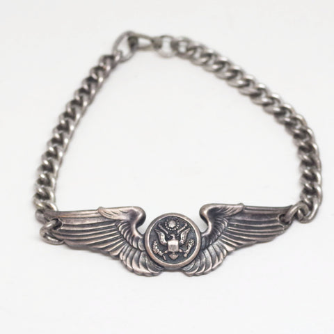 WW2-Era Sterling USAAF Bracelet