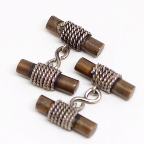 Braided Rope Cufflinks