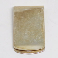 "Sterling Monogramed ""C"" Money Clip"