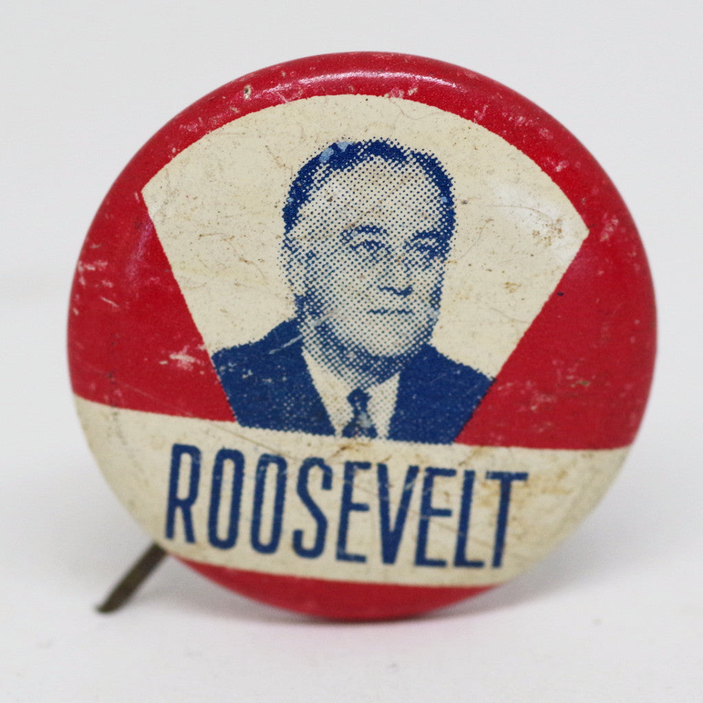FDR Campaign Pin