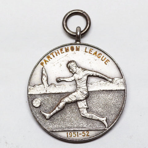 "Vintage ""Parthenon League"" Soccer Medal"