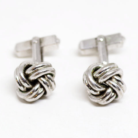 Sterling Knot Cufflinks