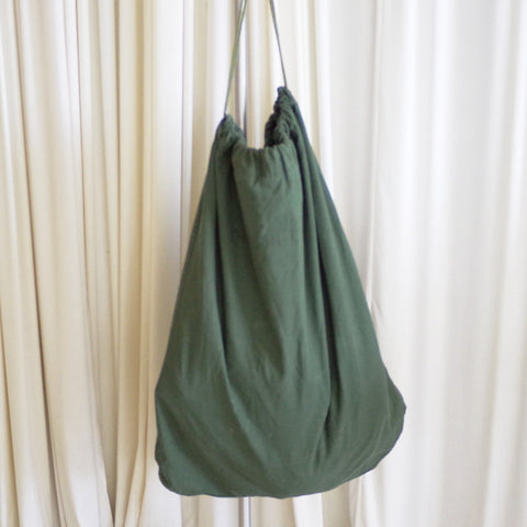 Vintage Army Drawstring Laundry Bag