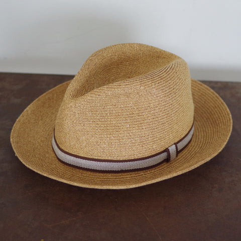Paul Stuart Crushable Panama Hat- 7 3/8