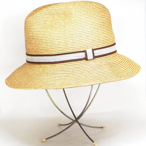 Mid-Century Collapsible Wire Hat Stand