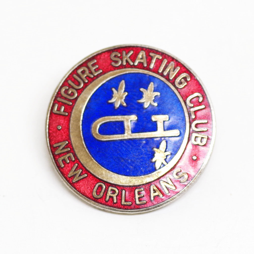 New Orleans Figure Skating Club Pin