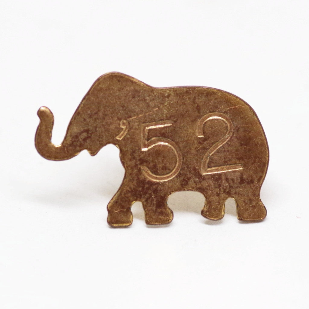 1952 GOP/Eisenhower Elephant Booster Pin