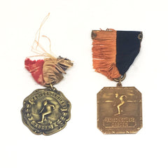 Madison Square Garden Ice Skating Medals