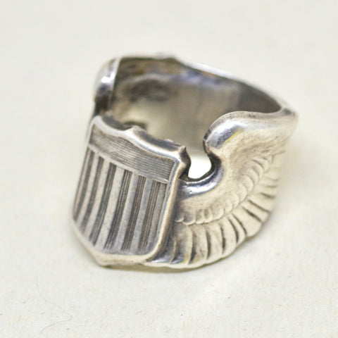 WWII Flier's Wings Ring
