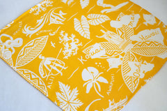 Tropical Golden Rayon Pocket Square by Put This On