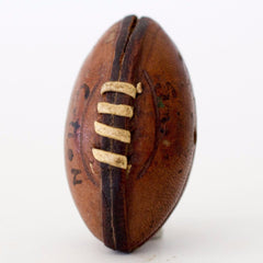 Vintage Miniature Football with Laces